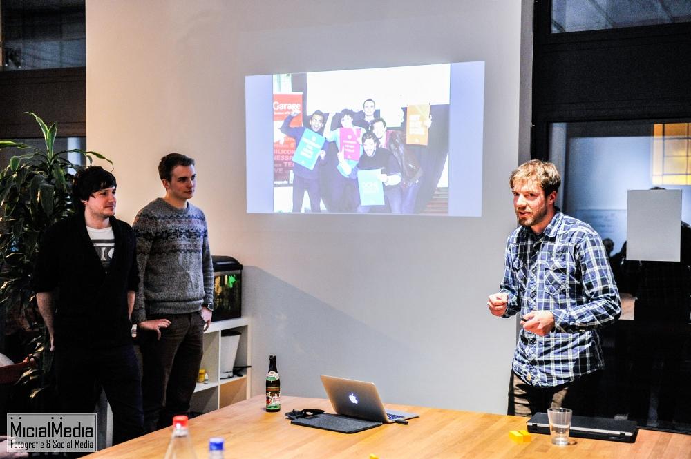 (c) Michael M. Roth, MicialMedia | Meet & Eat: Ben Romberg, Marc Mengler, Tim Suchanek von 4wizards