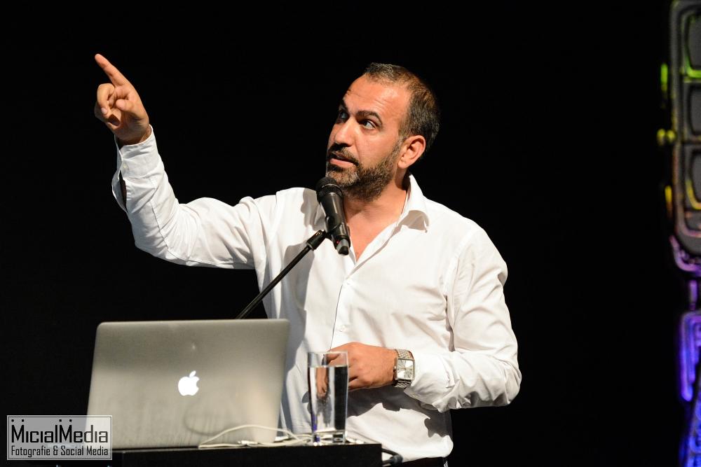 (c) Michael M. Roth, MicialMedia | Ibrahim Evsan bei der MEKA Hotspot 2014