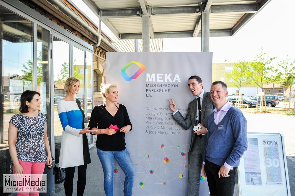 (c) Michael M. Roth, MicialMedia | Organisatoren und Ausgezeichnete des MEKAWARDS