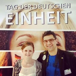 Tolle Betreuerin Jasmin Harz vom StaMi BaWü & der Micha