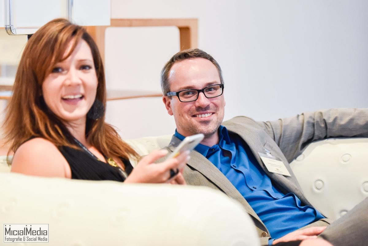 Dany und Henning, tolle Blogger-Kollegen! | Foto: MicialMedia