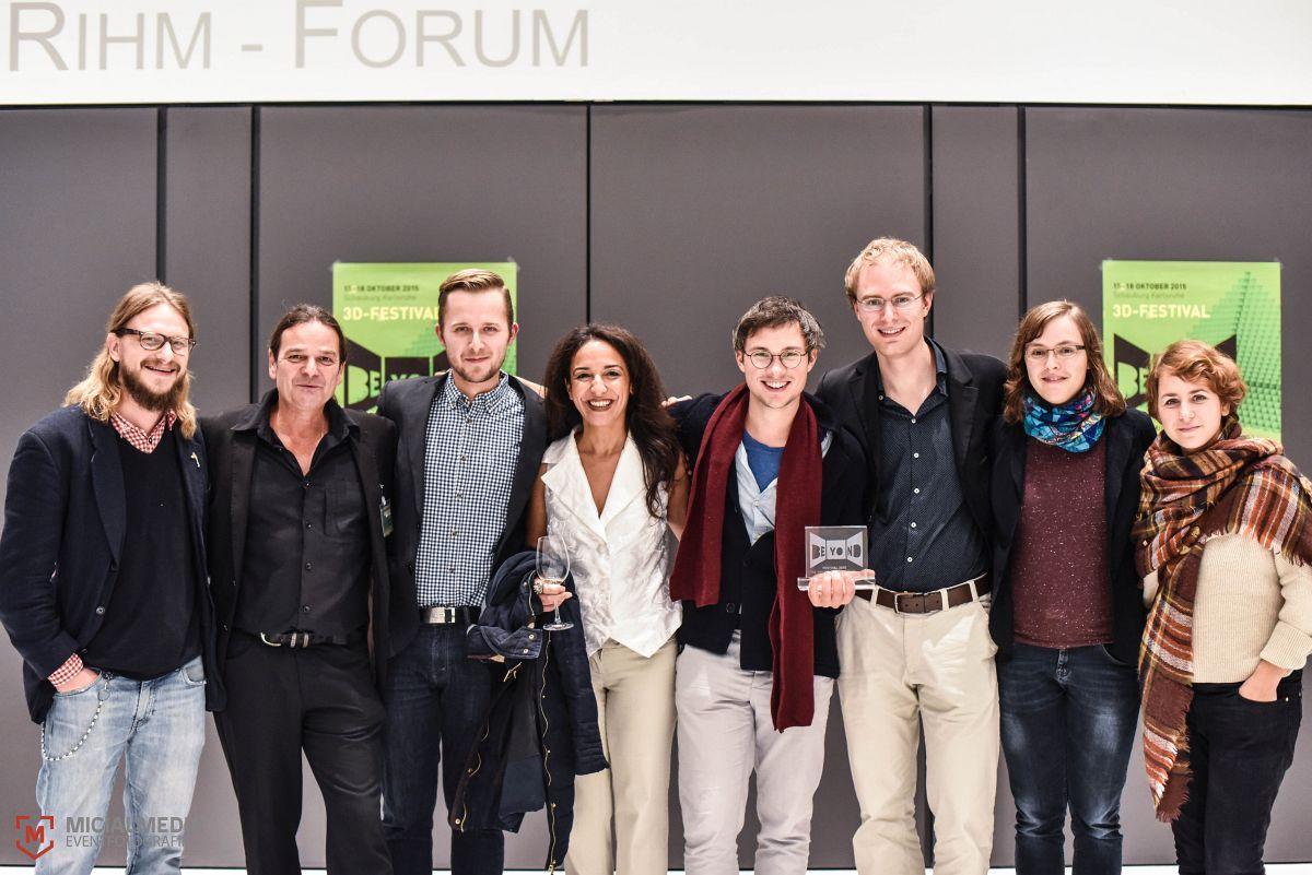 Foto: MicialMedia | Abendveranstaltung des 3D-Filmfestes BEYOND im MUT-Gebäude der HfM Karlsruhe