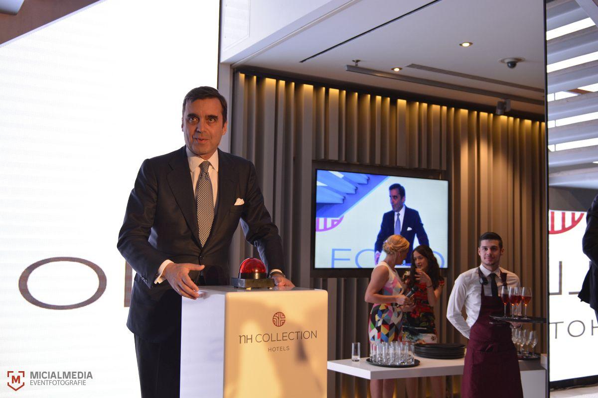 Der spanische Botschafter Juan Pablo García-Berdoy