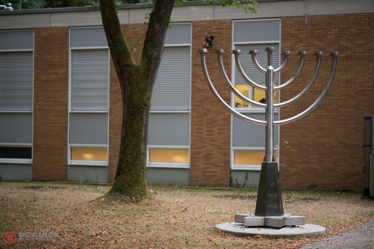 Menora und Davidstern - Symbole der jüdischen Religion | Foto: Michael M. Roth, MicailMedia