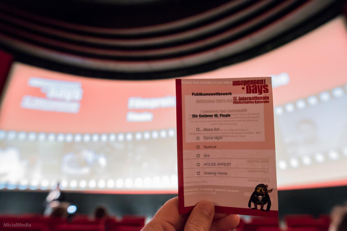 Abstimmung Publikumspreis IDIF 17 | Foto: Michael M. Roth, MicialMedia