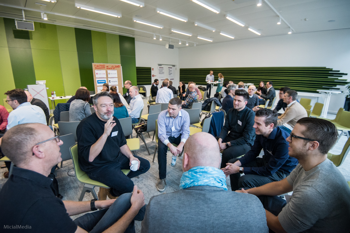 Agenturcamp bei Microsoft in München | Foto: Michael M. Roth, MicialMedia